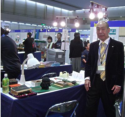 一級彫刻士・一等印刻士・マイスター・内閣総理大臣賞受賞の大槻秀山先生です