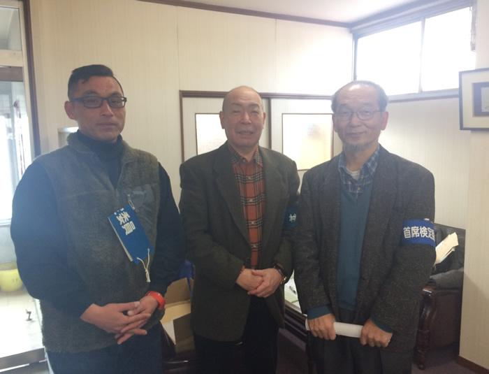 手彫り印鑑の専門店大槻秀山先生が技能士検定の審査員として参加されました