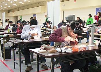 完全手彫り印鑑の競技中です!手彫り印鑑の店栄文堂